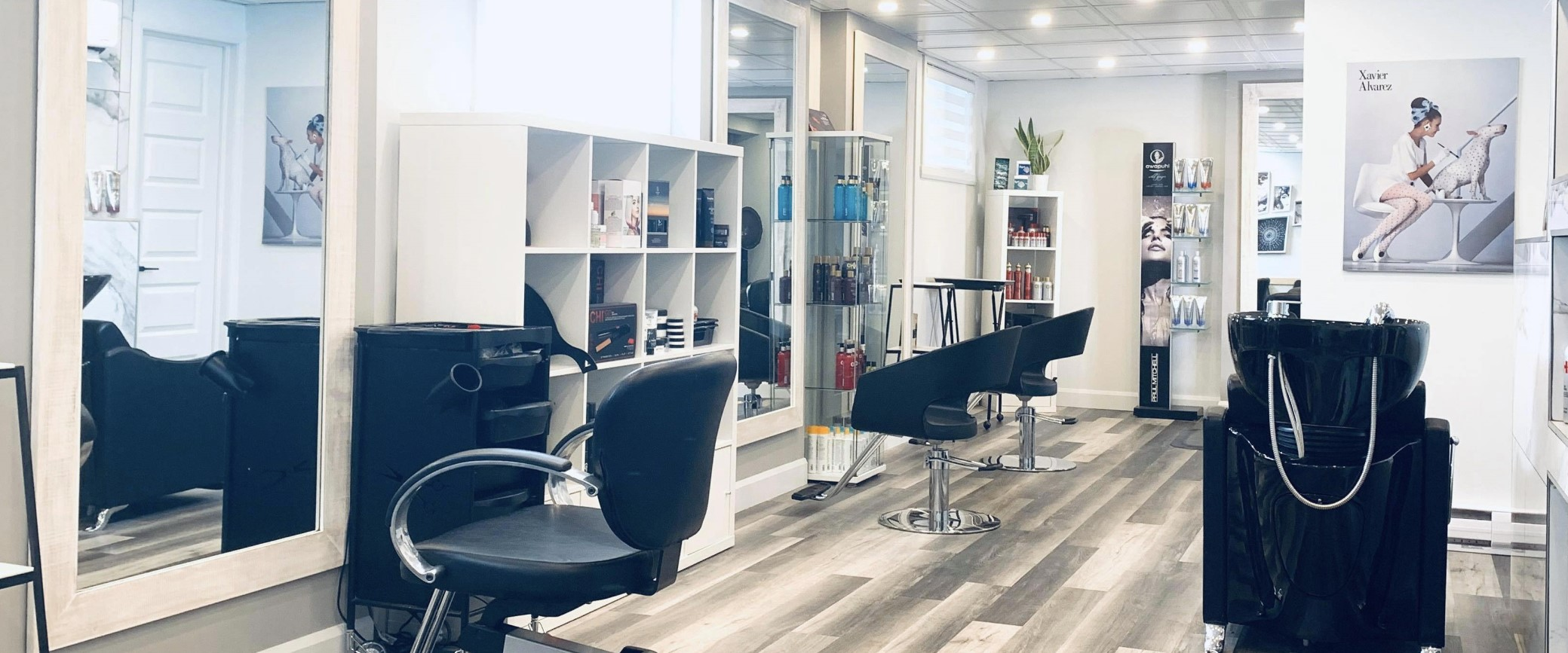 Salon de coiffure à Saint-Augustin-de-Desmaures